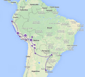 South America Map 1
