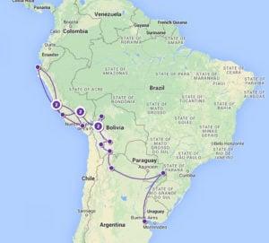 South America Map 1