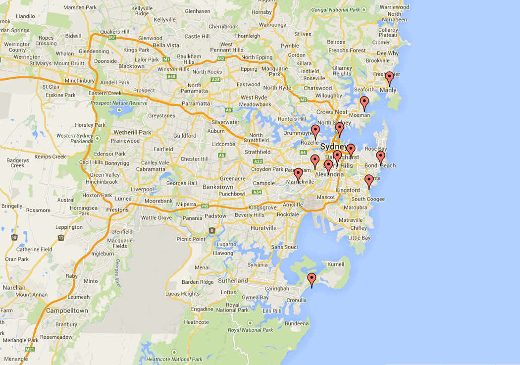 Where To Live In Sydney Londoner In Sydney