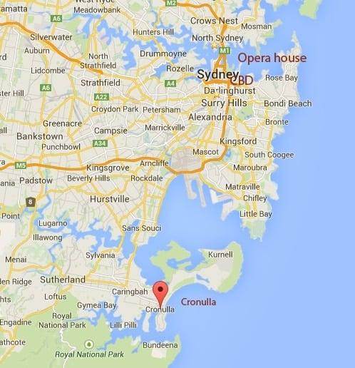 Cronulla NSW Google Maps