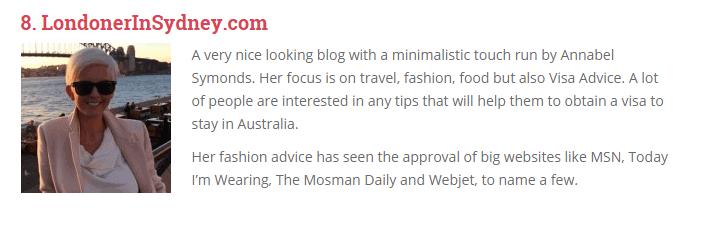 Best Australian Expat Blogs In 2015