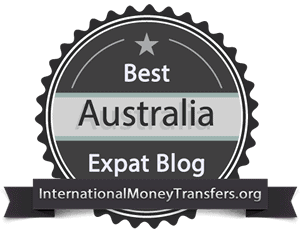 I'm One Of The Top 10 Best Expat Blogs In Australia