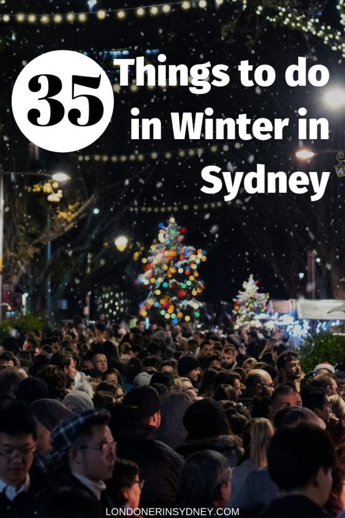 Things to do in Winter in Sydney