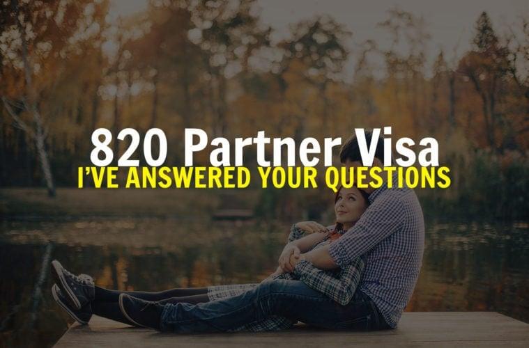 partner-visa-to-australia-q-and-a