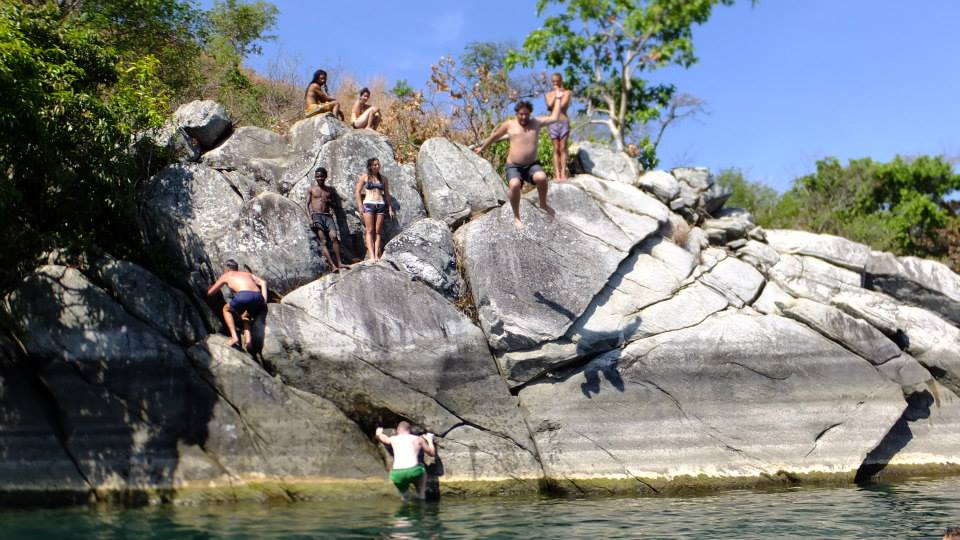 cliff jumping malawi