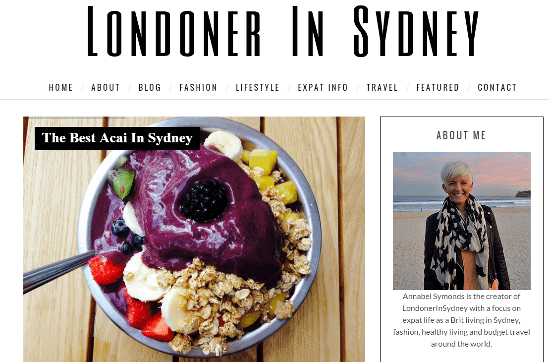 Londoner In Sydney Fashion and Lifestyle Blog