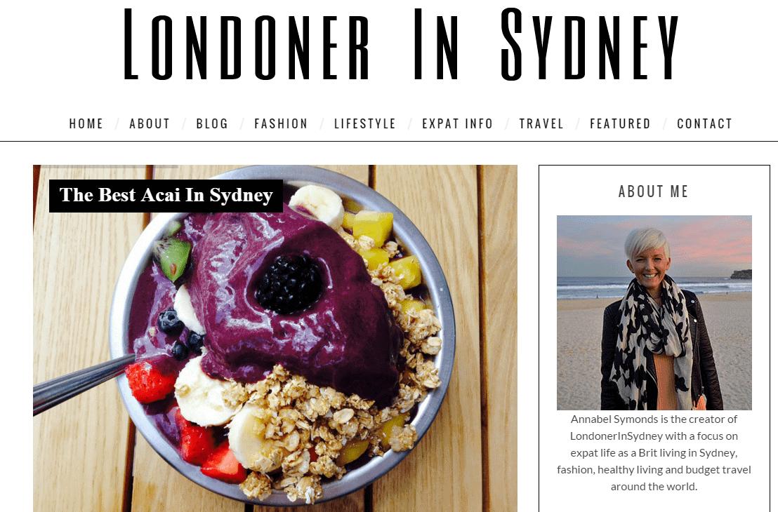 Londoner In Sydney Fashion and Lifestyle Blog