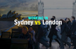 working-sydney-vs-london