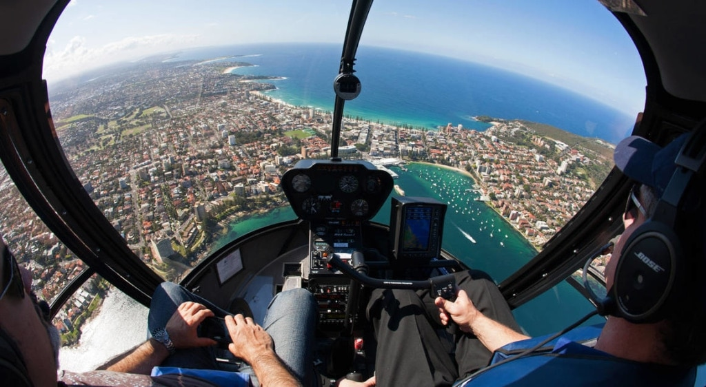 helicopter-flight-over-sydney