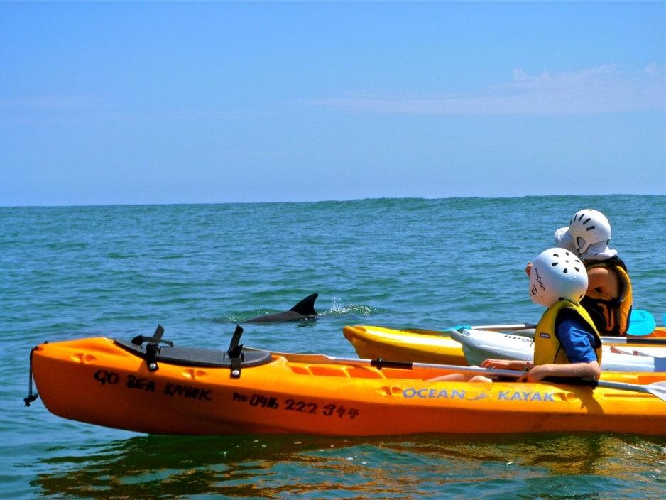 Kayaking in byron bay
