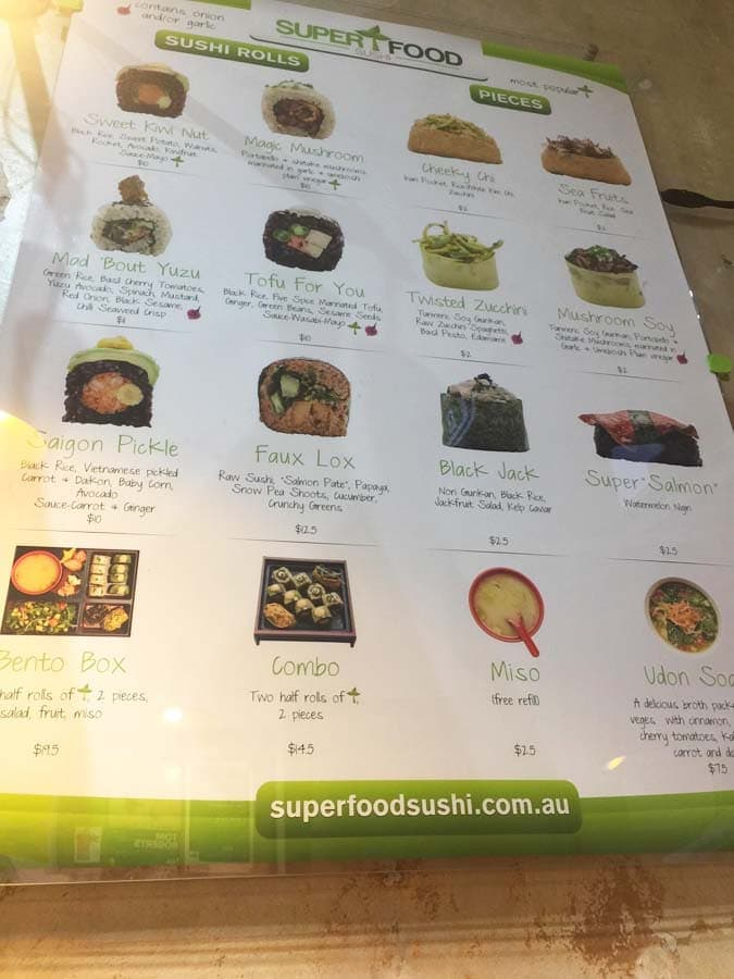 superfood sushi