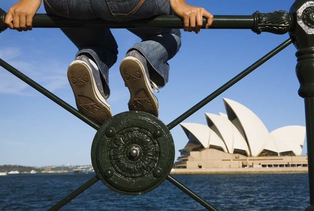 travelling to australia on your own tips