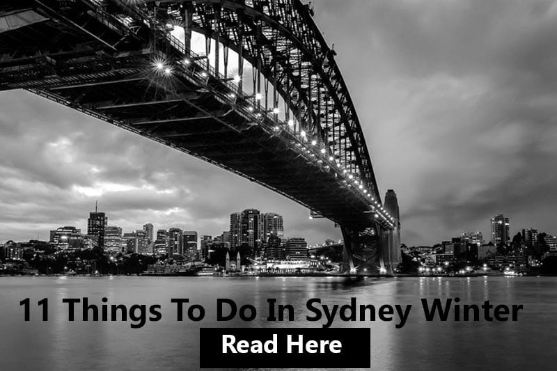 11 things to do in Sydney winter