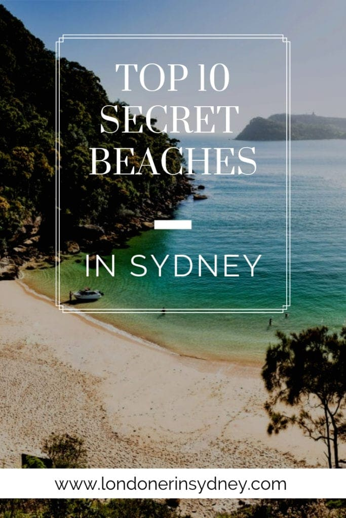 10 Secret Beaches In Sydney