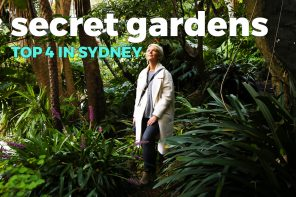The best 4 secret gardens in Sydney