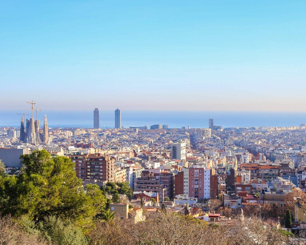 view-from-park-guell-barcelona