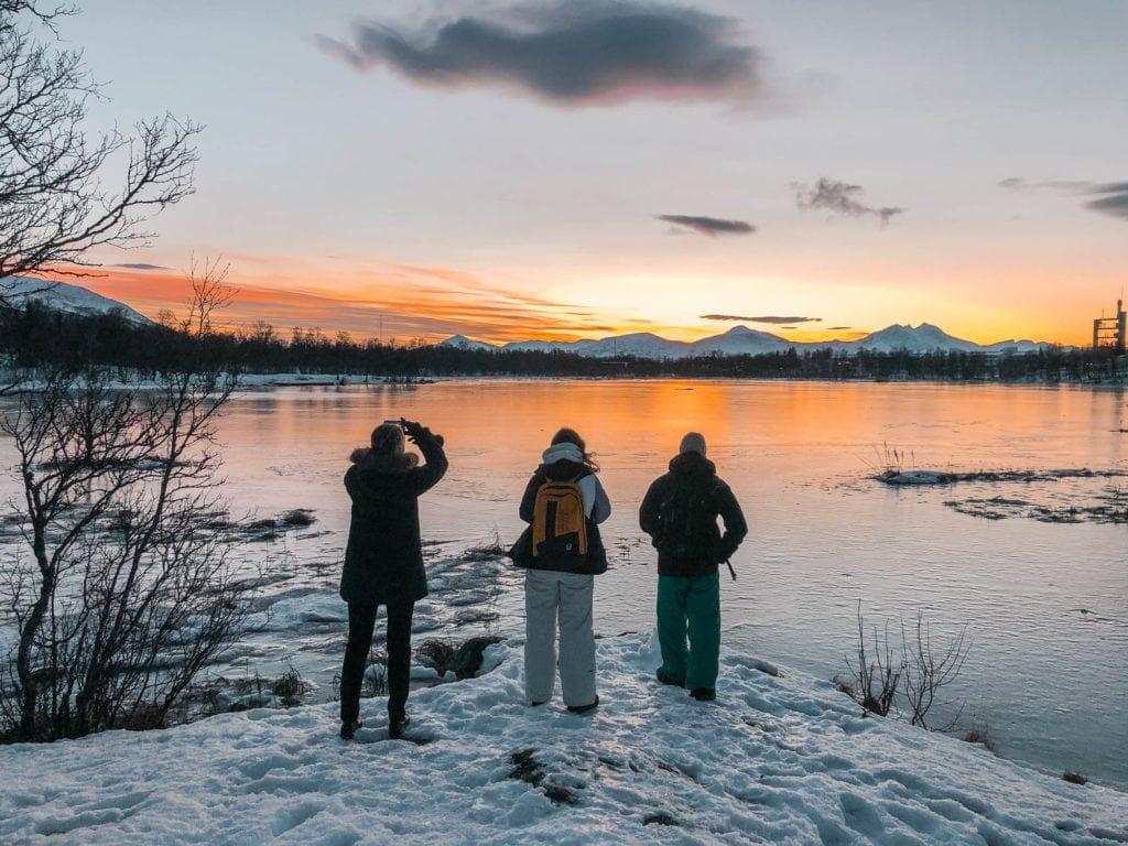 tromso-lake-norway-winter