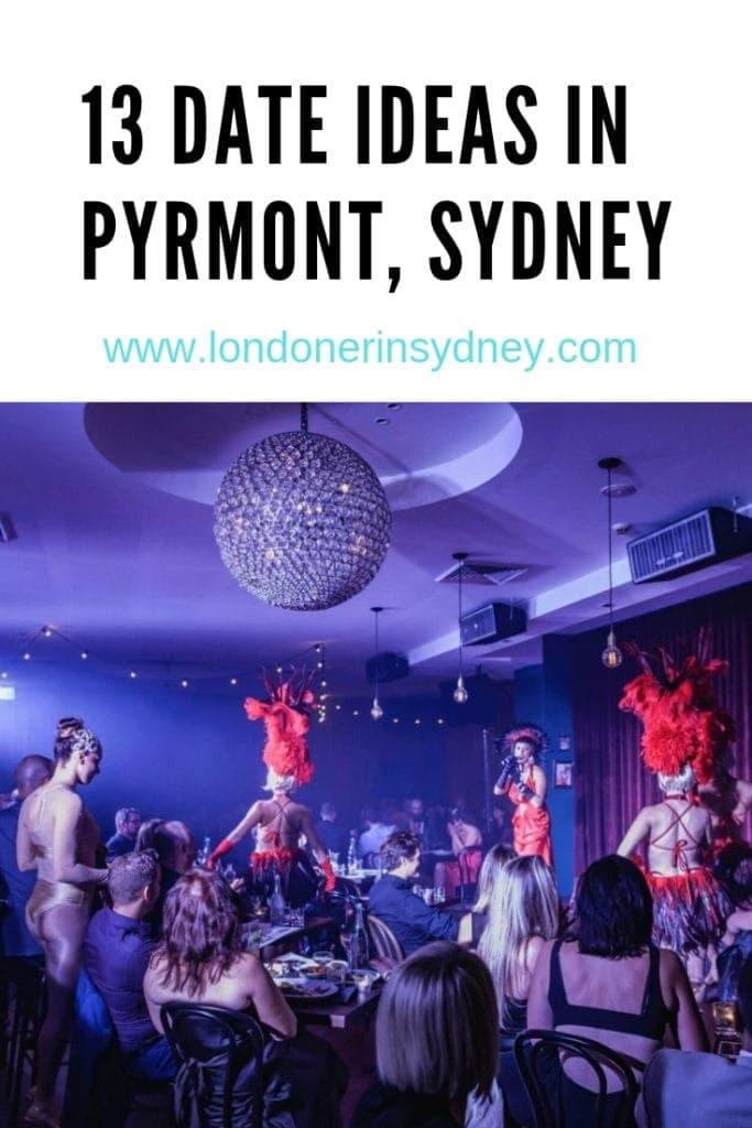 13 date ideas in sydney's pyrmont