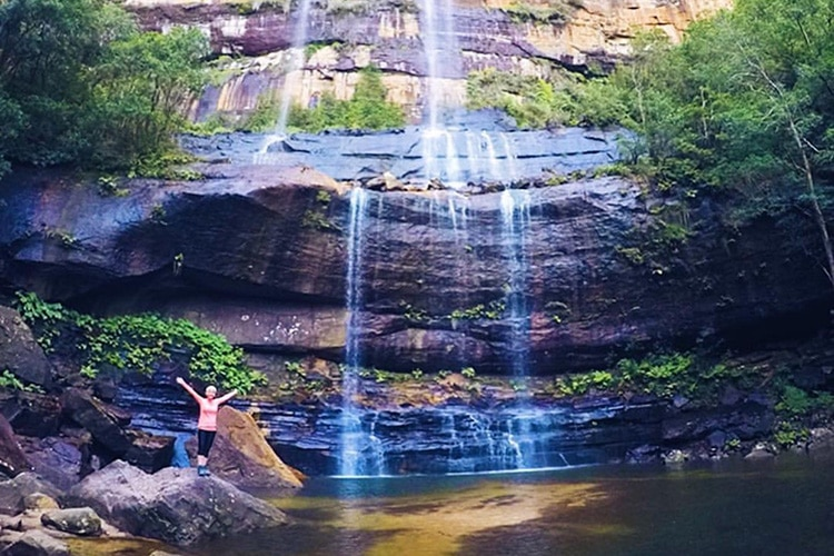 How To Get To The Bottom Of Wentworth Falls In Blue Mountains