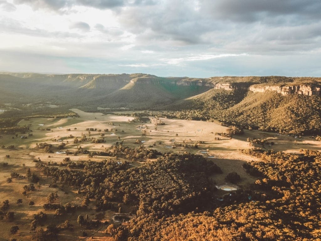 Blackheath-lookout-blue-mountains-drone-shot