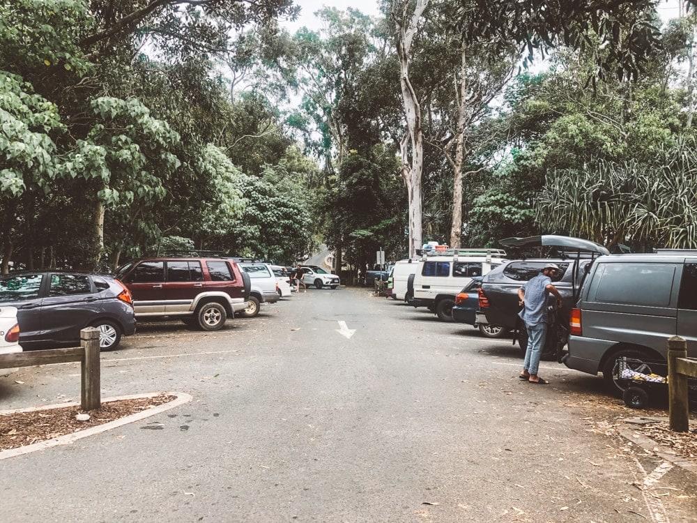 noosa-national-park-carpark