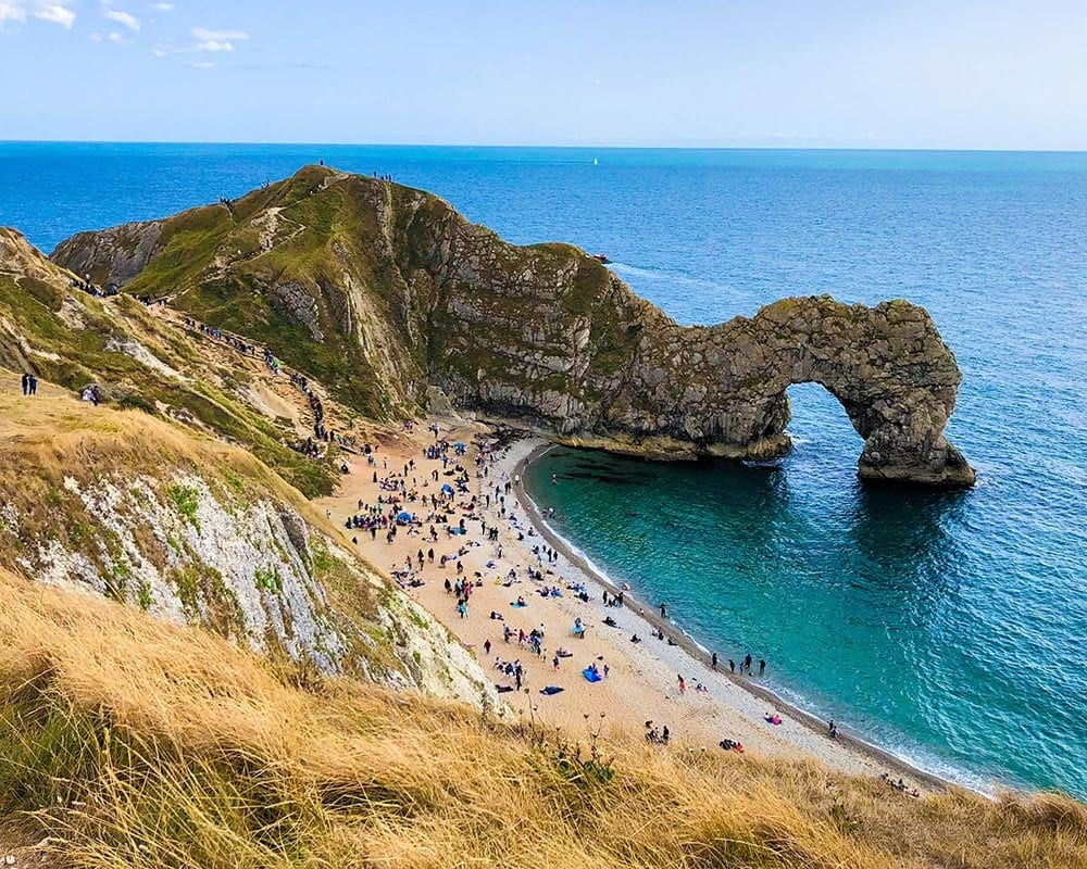 durdle-door-jurassic-coast-beach-near-london