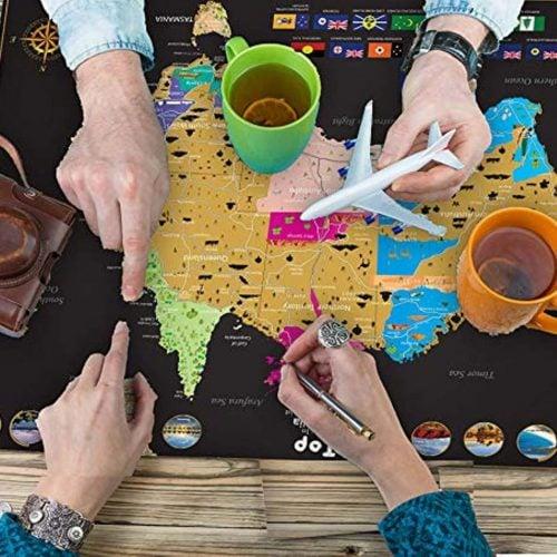 Australia-scratch-off-map