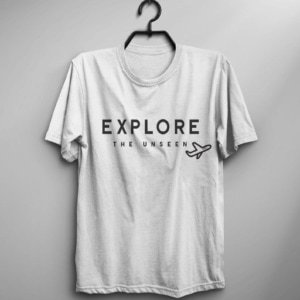 Explore-the-unseen-travel-tshirt