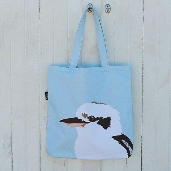 Kiki the Kookaburra Canvas Bag