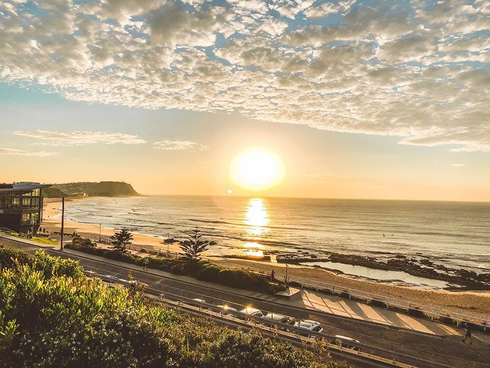 merewether-beach-sunrise