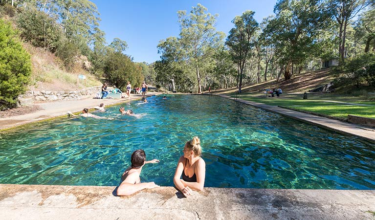 Yarrangobilly Thermal Pools
