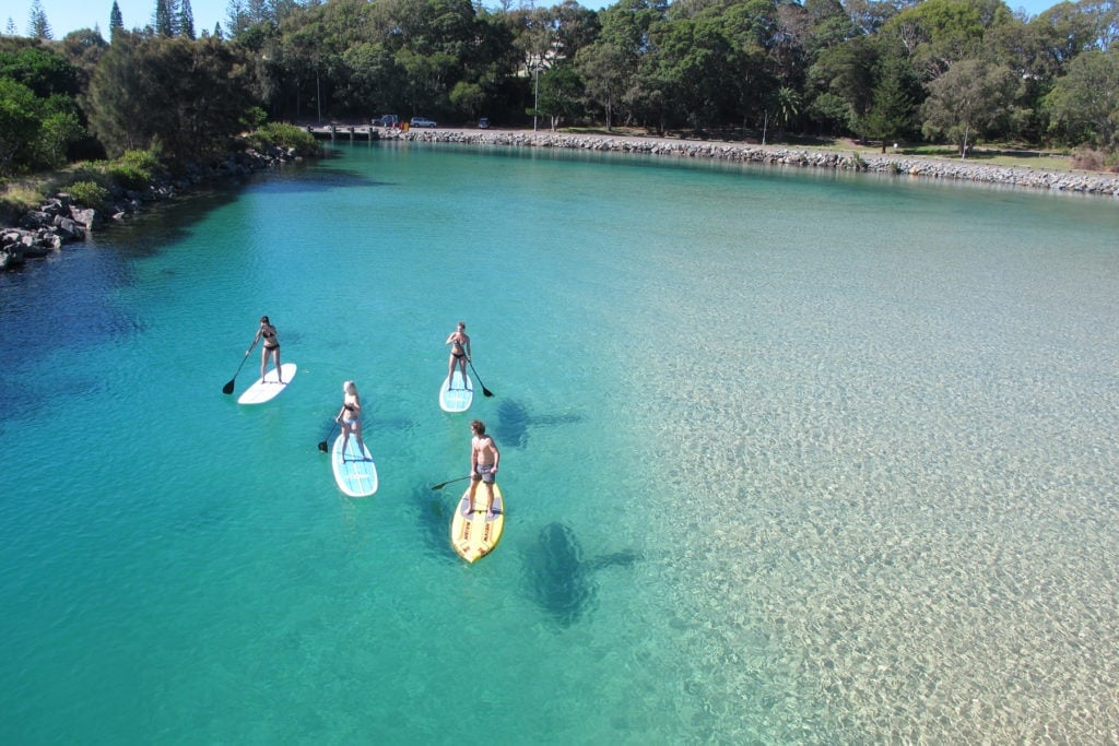 South-West-Rocks-SUP-paddle-boarding