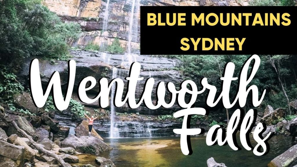 Hike To Bottom Of Wentworth Falls
