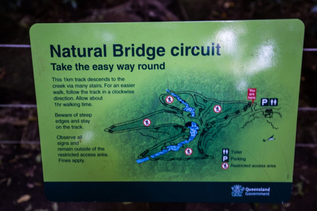 natural-bridge-springbrook-national-park-map