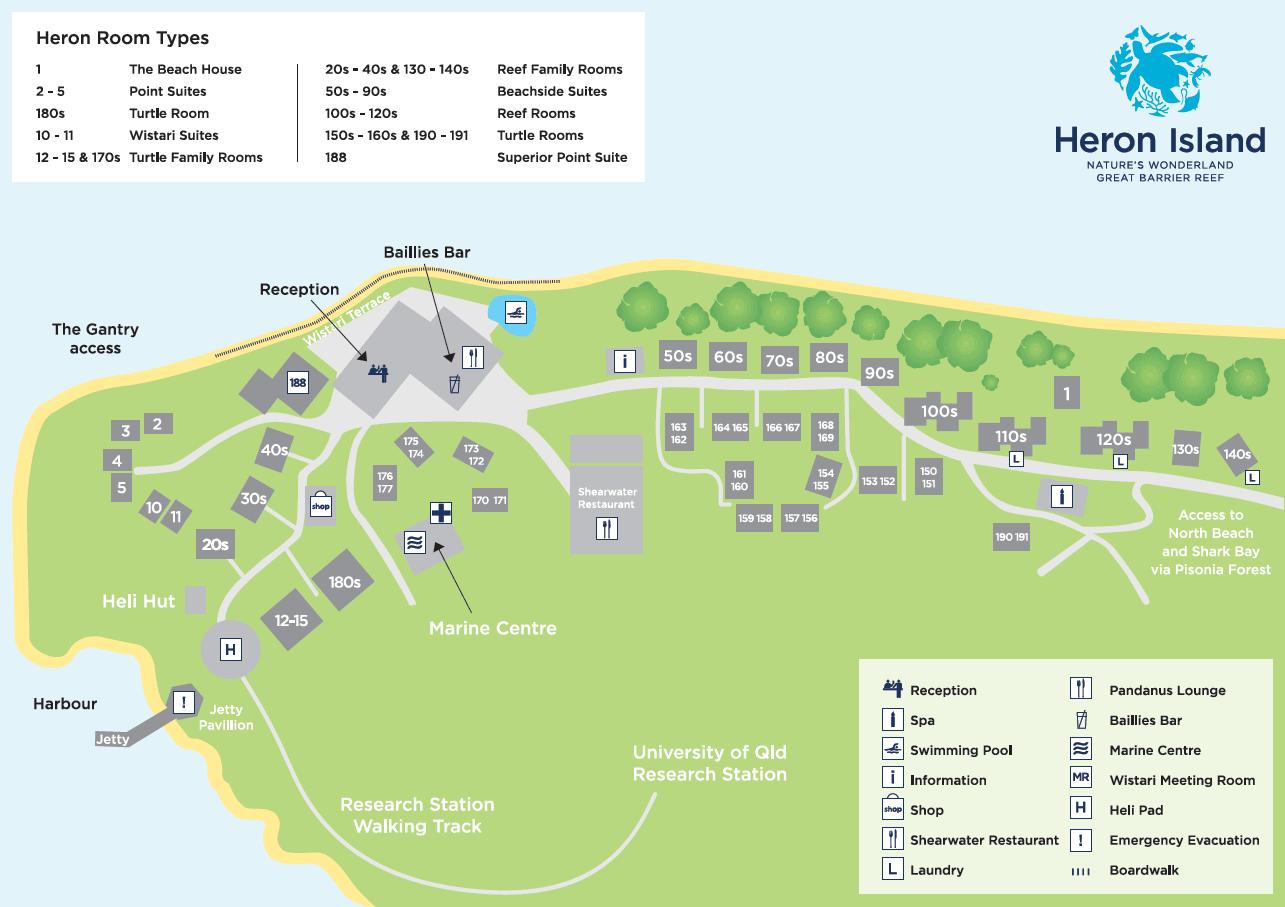 heron-island-resort-map